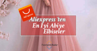 aliexpress abiye elbise