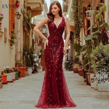 aliexpress bayan abiye elbise