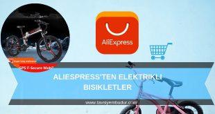 aliexpress elektrikli bisiklet