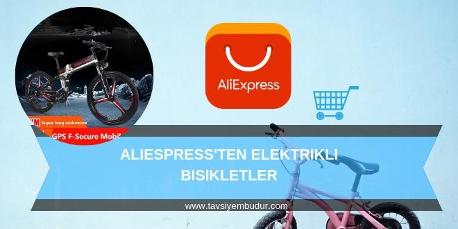 aliexpress elektrikli bisiklet kiti