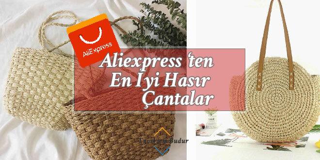 Aliexpress Hasır Çanta