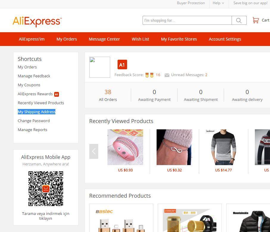 Aliexpress.com'a Nasıl Üye Olunur?