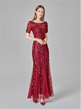 kırmızı abiye elbise aliexpress